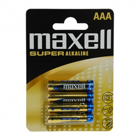 Maxell LR03/AAA Super alkaline batterier