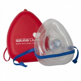 Kunstig åndedrætsmaske i hardbox